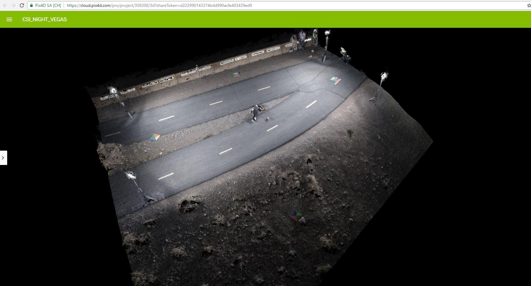 Night (Drone) CSI Demonstration/training with FoxFury & Pix4D (FREE